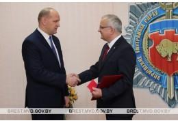 Проводили на заслуженный отдых начальника Ивановского РОВД