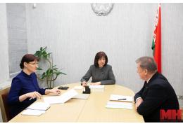 О чем спросили Наталью Кочанову во время личного приема граждан в Минске