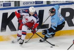 В гостевой встрече хоккеисты минского «Динамо» проиграли ЦСКА