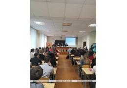 Начальник УВД встретился со студентами Барановичей