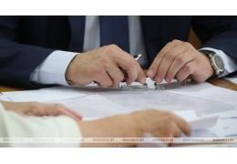 Члены Президиума Совета Республики продолжают личные приемы граждан