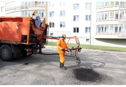 В Минске усилят контроль за качеством ямочного ремонта во дворах