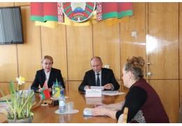 Совместный выездной прием граждан в Ивацевичском РИКе - КГК Брестской области