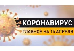 Коронавирус. Ситуация в Беларуси и мире на 15 апреля. Последние данные по COVID