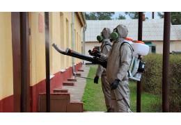 Военные химики окажут помощь в дезинфекции против COVID-19