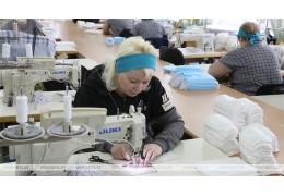 Оршанский льнокомбинат освоил выпуск масок и марли