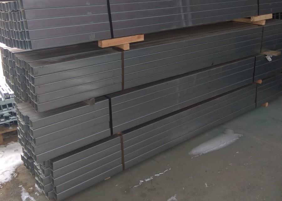 Столб для забора оцинкованный 60х40х1,2 длина 2000