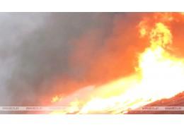 Пенсионер погиб на пожаре в Докшицком районе
