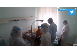 Коронавирус в Беларуси: контроль за ситуацией в больницах. «Контуры» ОНТ