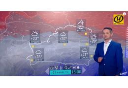 Прогноз погоды на неделю от Дмитрия Рябова за 2 минуты. | 15-21 июня 2020