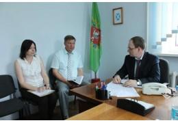 Председатель КГК Витебской области Годяцкий В.В. провел выездной прием граждан