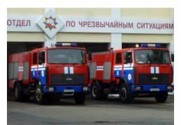 В Минске горел спа-салон