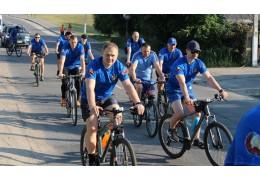 Велопробег следователей в честь Дня Независимости Республики Беларусь