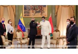 Посол Беларуси вручил верительные грамоты президенту Венесуэлы