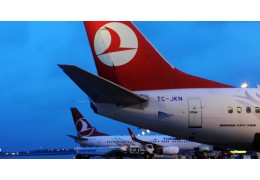 Самолет Turkish Airlines приземлился в аэропорту Стамбула после сообщения о бомб